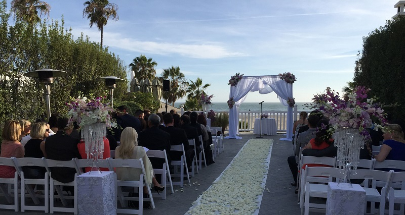 Shutters on the Beach, Santa Monica, CA, California, Russian wedding DJ, MC, tamada