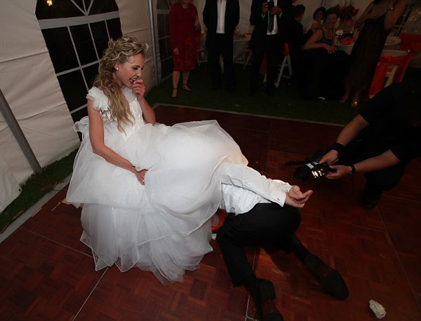 Wedding reception fun games, MC Misha