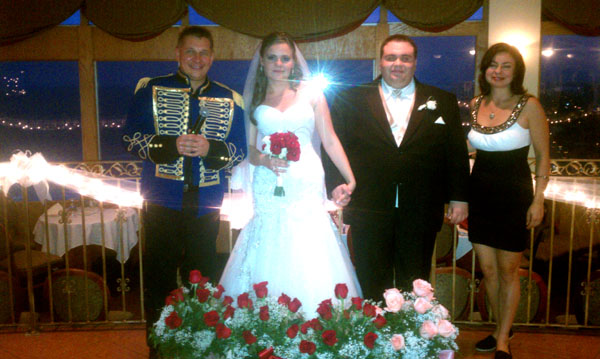 Top Of Daytona, Daytona Beach, FL, Russian wedding, Florida