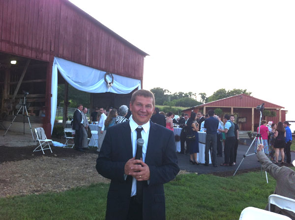 Russian-American wedding, Tennessee, August 2012