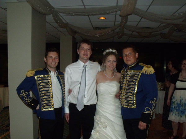 Russian-American wedding in North Carolina