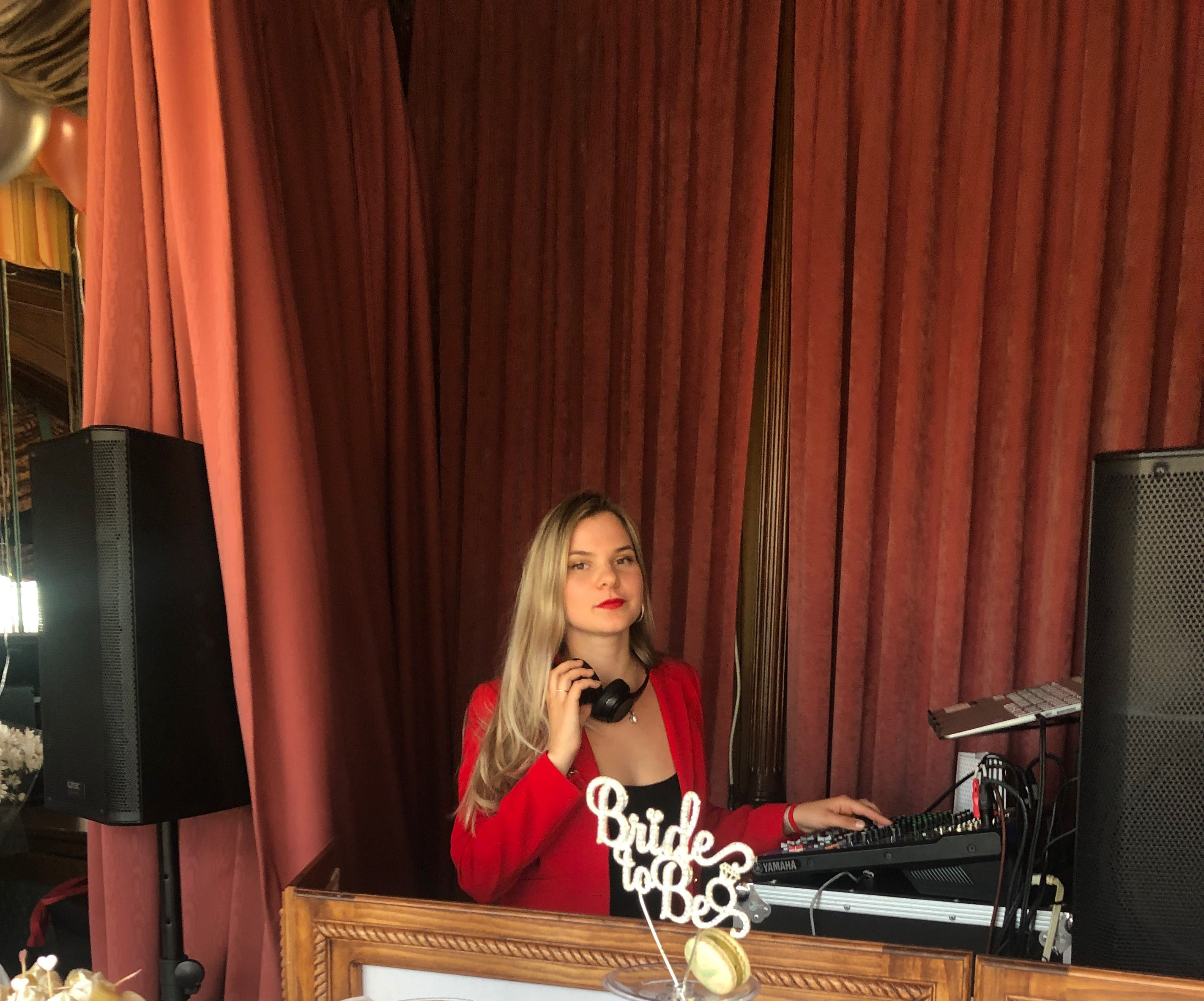 Russian DJ Alisa, bachelorette party, West Manor Catering and Event Space, West Orange, New Jersey, 06-30-2019