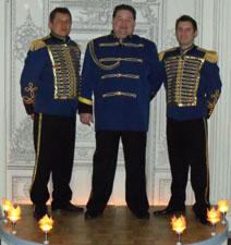 MC Misha, singer Sasha Menshikov, DJ Barnaul