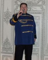 singer Sasha Menshikov