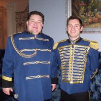 singer Sasha Menshikov and DJ Barnaul