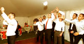 Wedding reception fun games