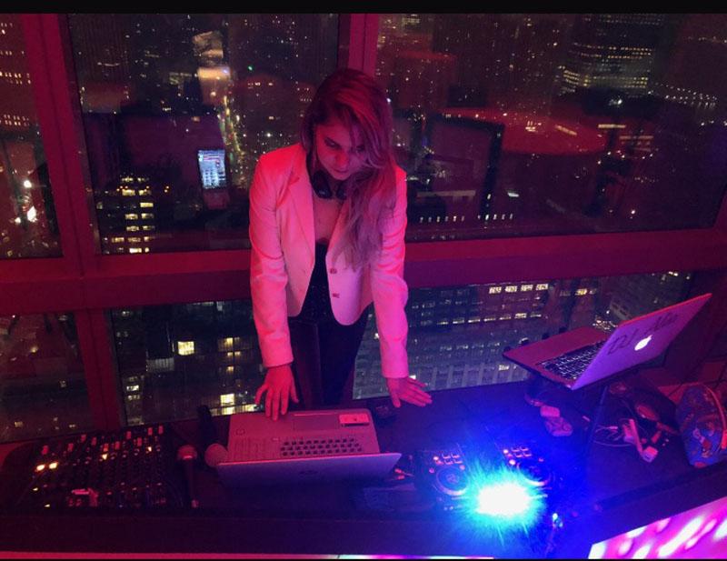 Russian DJ Alisa, Birthday party, Dominick Hotel, New York City, 02-23-2019
