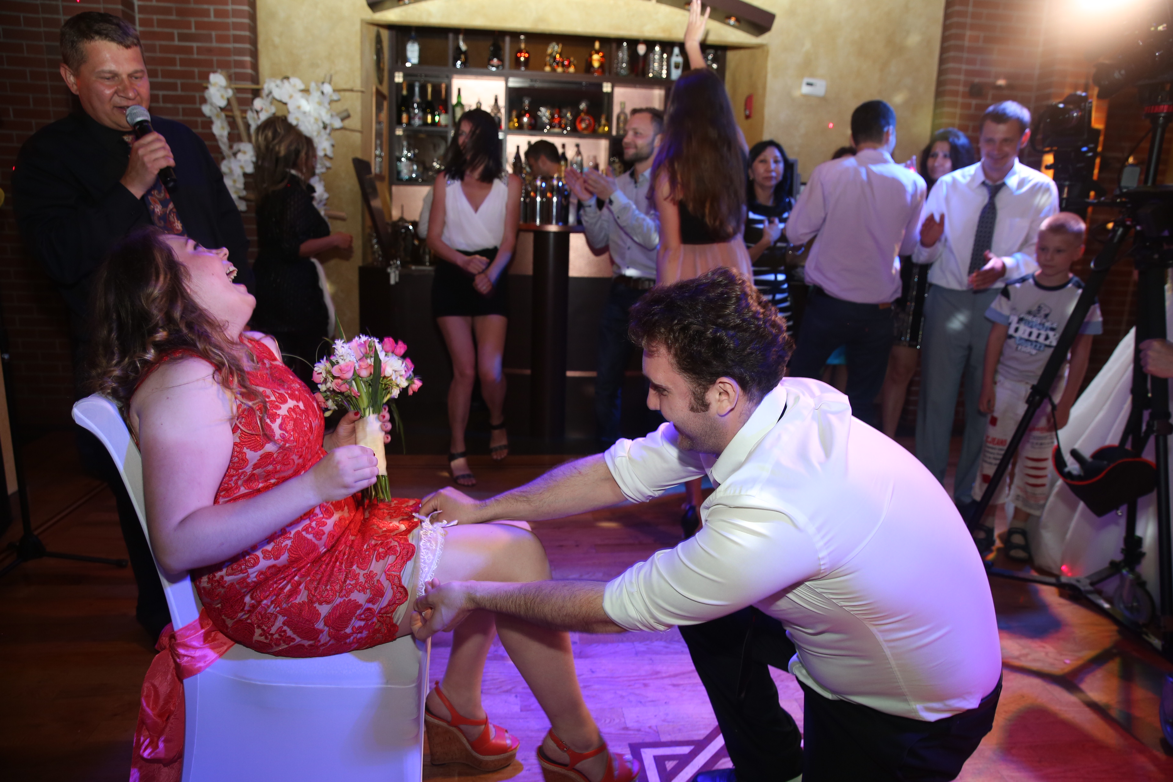 Bilingual Russian English Mc Tamada Mikhail Wedding At The Baku